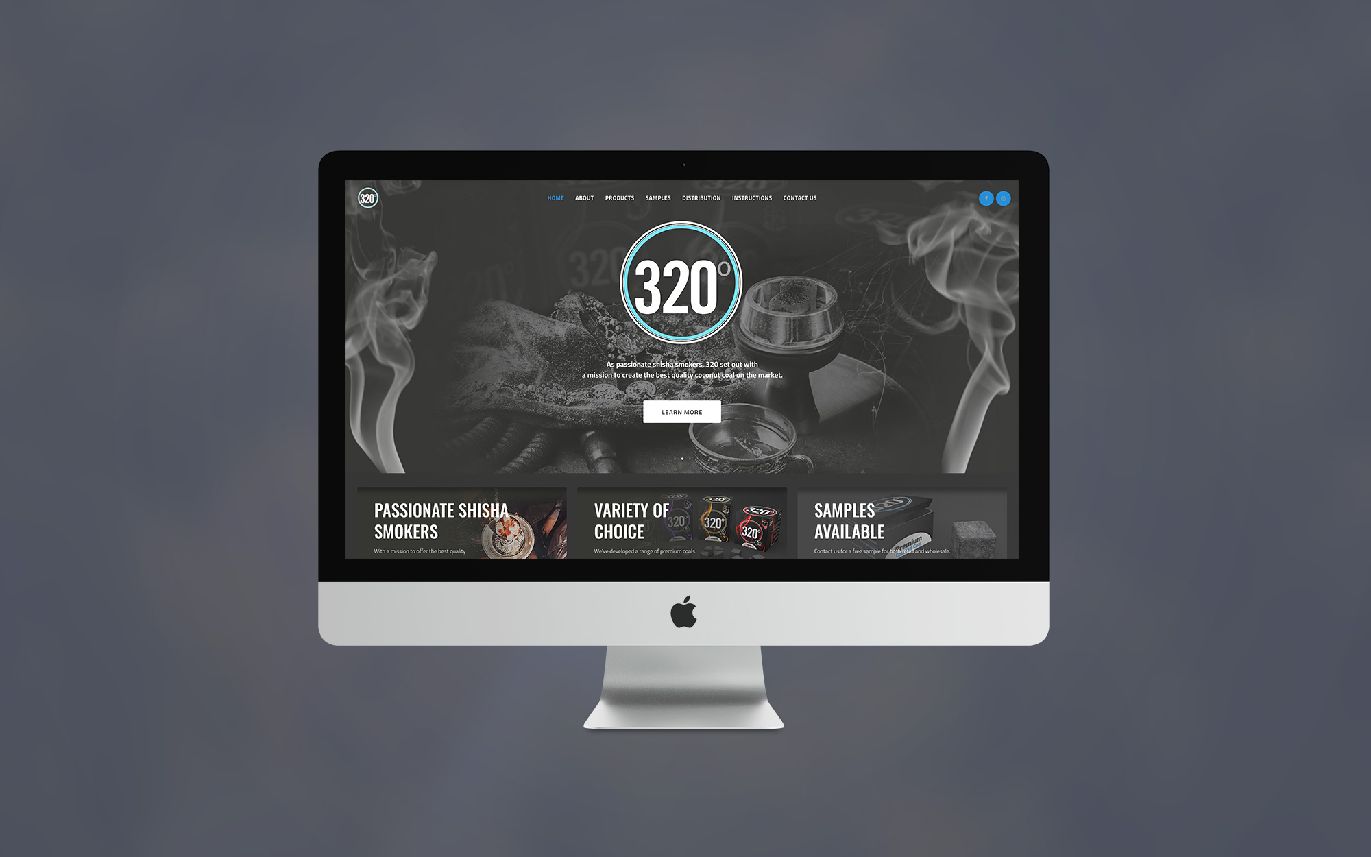 320 Coal Website Design