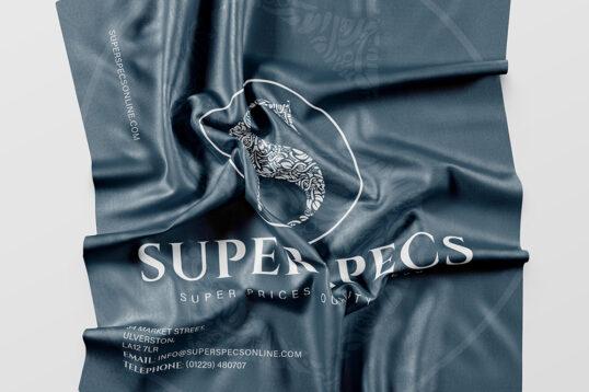Super Specs Cleaning Cloth Design