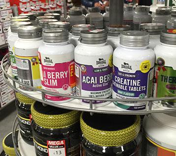 Sports Nutrition Label Design