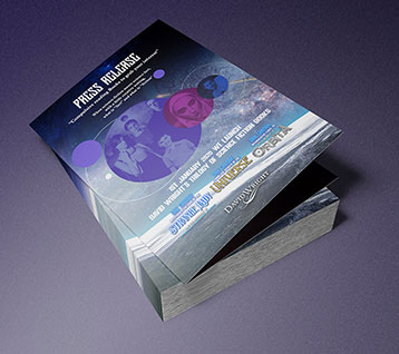 Press Release Brochure Design