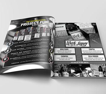 Retail brochure design