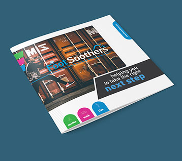 Foot Soothers Brochure Design