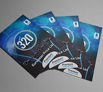 320 Degrees Coal Brochure Design